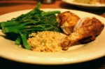 11-15 Store Bought Roast Chicken, Broccolin & Couscous
