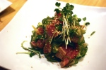 11-22 Mikuni Seared Tuna Poke Salad