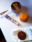 "12-1 ""Sausage"", Cheese and a Clementine (and Phooey's Breakfast)"