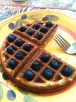 12-18 My Aunt's Blueberry Waffles