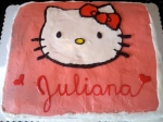 12-3 Hello Kitty Cake I Made for a Coworker's Daughter