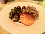 Jan 3- Stovetop Stuffing, Sprouts & Roll