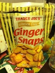 Jan 13- Trader Joe's Gluten Phree Ginger Snaps