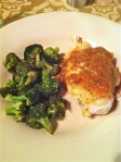 Jan 19- Sundried Tomatoe Chicken & Roasted Broccoli