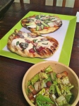 Jan 25- Grilled Pizza Results (& Salad)
