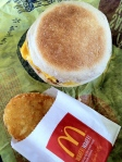 Jan 1- McDonald's Breakfast