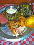Feb 12- BBQ Platter (Buckhorn Steakhouse)