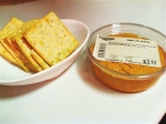 Feb 28- Hummus & Crackers