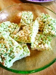 Mar 17- Green Rice Krispies Treats