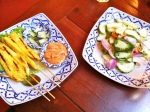 Mar 18- Chicken Satay & Cucumber Salad (Taste of Thai)